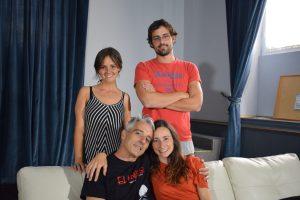 Virginia Calderón, Carlos Zamarriego, Juan Antonio Hidalgo y Marina Sänchez Vílchez.