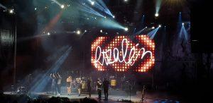 Rozalén y sus músicos en Starlite. Fotografía de Jose Vera.