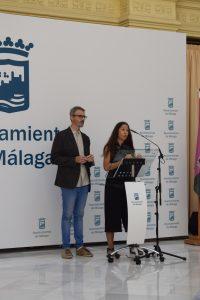Elisa Ramos y Joaquín Casanova de La Maquiné.