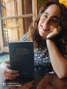 Yohana Recio durante nuestra entrevista.
