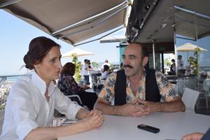 Entrevista Laura Gómez LaCueva y Chani Martín - Historias Lamentables. Fotografía de Rocío Román.