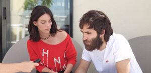 Entrevista con Vicky Luengo y Ricardo Gómez. Fotografía de Jose Vera.