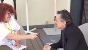 Entrevista con Pere Ponce. Fotografía de Jose Vera.